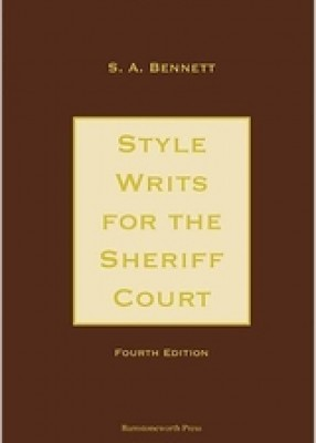 Style Writs for the Sheriff Court (4ed)
