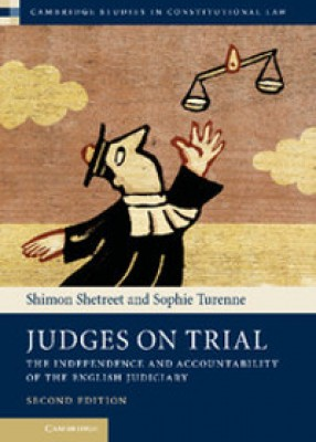 Judges on Trial: The Independence and Accountability of the English Judiciary