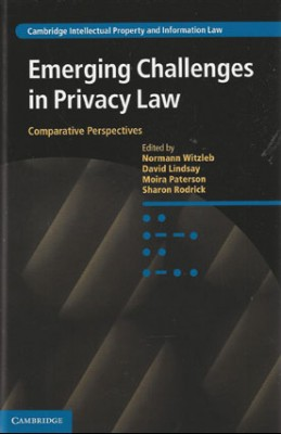 Emerging Challenges in Privacy Law: Comparative Perspectives