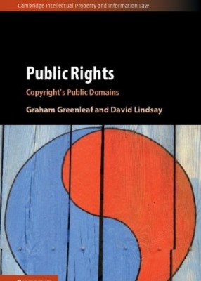 Public Rights: Copyright's Public Domains