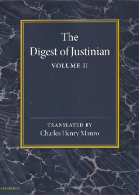 Digest of Justinian: Volume II