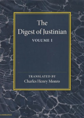 Digest of Justinian: Volume I