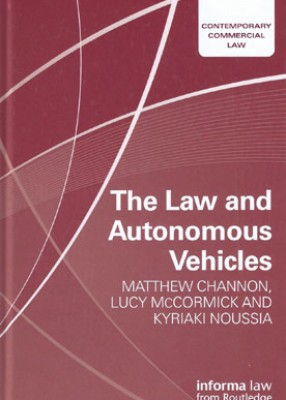 Law and Autonomous Vehicles