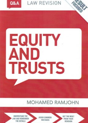 Q&A Equity and Trusts (9ed)