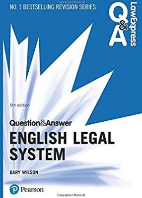 Law Express Q&A: English Legal System (5ed)