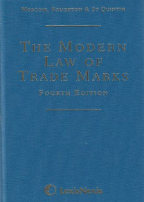 Modern Law of Trade Marks (4ed)