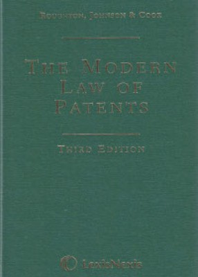 Modern Law of Patents (3ed)