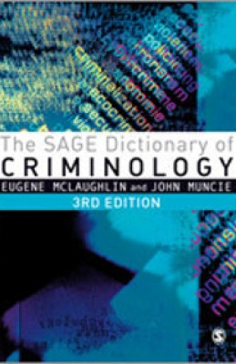 SAGE Dictionary of Criminology (3ed)