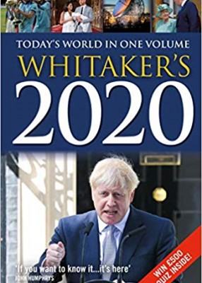 Whitaker's 2020 (152ed edition)