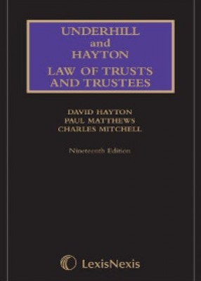Underhill & Hayton: Law of Trusts and Trustees (19ed) + 1st Supplement