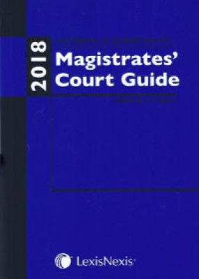 Anthony & Berryman's Magistrates Court Guide 2018