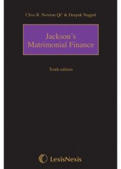 Jacksons Matrimonial Finance & Taxation (10ed)