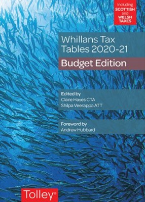 Whillan's Tax Tables 2020-21 (Budget edition)