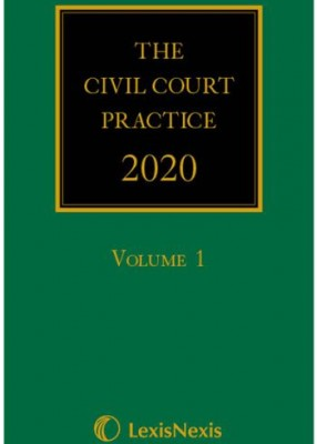 Civil Court Practice 2020: Green Book