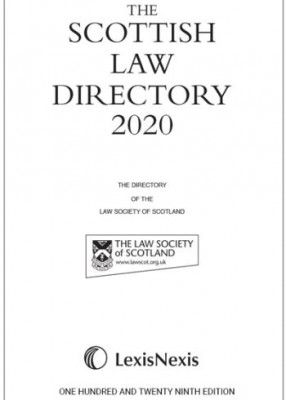Scottish Law Directory 2020 (White Book)