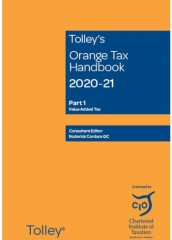 Tolley's Orange Tax Handbook 2020-2021