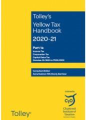 Tolley's Yellow Tax Handbook 2020-2021