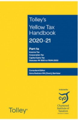 Tolley's Yellow Tax Handbook 2020-2021