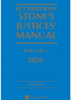 Stone's Justices' Manual 2020 (3 Volumes + Supplement + CD)