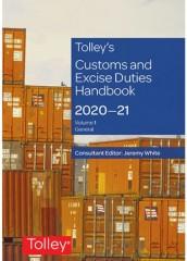 Tolley's Customs Duties and Excise Duties Handbook  2020-2021 (7 Volumes)