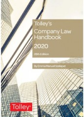 Tolley's Company Law Handbook (28ed) 2020