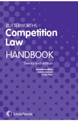 Butterworths Competition Law Handbook (26ed)