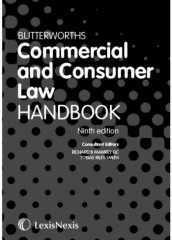 Butterworths Commercial and Consumer Law Handbook (9ed)