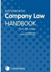Butterworths Company Law Handbook 2021 (35ed)