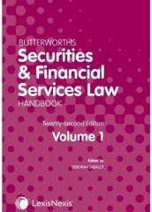 Butterworths Securities & Financial Services Law Handbook (21ed) 2021
