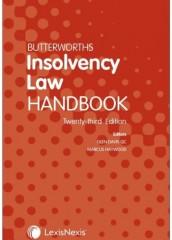 Butterworths Insolvency Law Handbook (23ed)