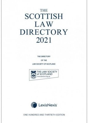 Scottish Law Directory 2021 (White Book)