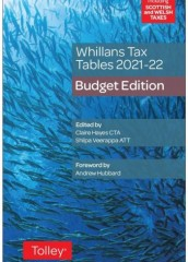 Whillan's Tax Tables 2021-22 (Budget edition)
