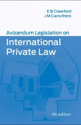 Avizandum Legislation on International Private Law (5ed)