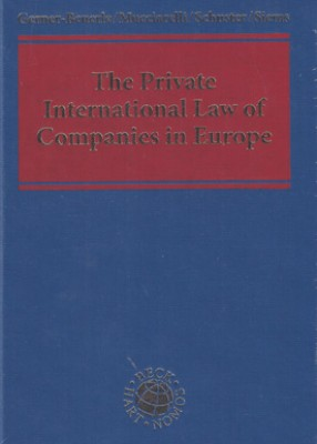 Private International Law of Companies in Europe