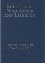 Solicitors' Negligence and Liability (4ed)