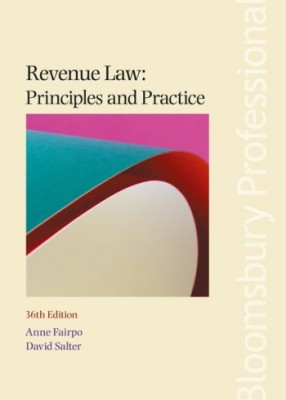 Revenue Law: Principles and Practice (36 ed) 2018