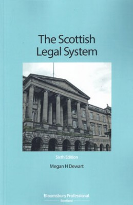 Scottish Legal System (6ed)