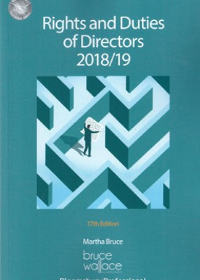 Rights and Duties of Directors 2018-2019 (18ed)