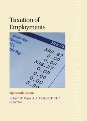 Taxation of Employments (18ed)