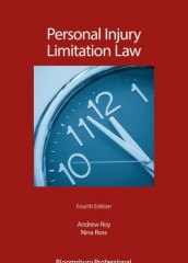 Personal Injury Limitation Law (4ed)