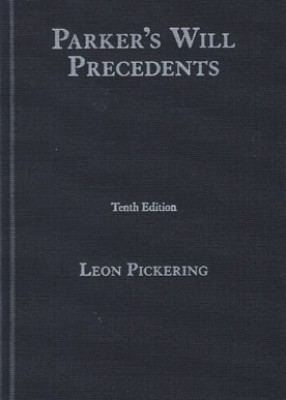 Parker's Will Precedents (10ed)