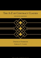 A-Z of Contract Clauses (7ed) with digital download