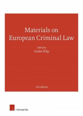 Materials on European Criminal Law (3ed)