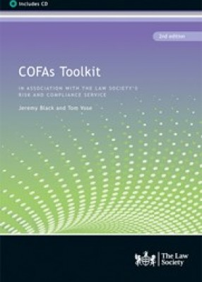 COFAs Toolkit: The Law Society's Risk and Compliance Service (2ed)