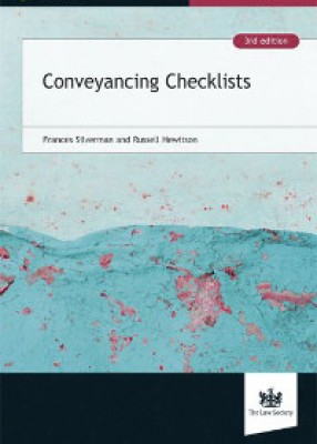 Conveyancing Checklists (3ed)
