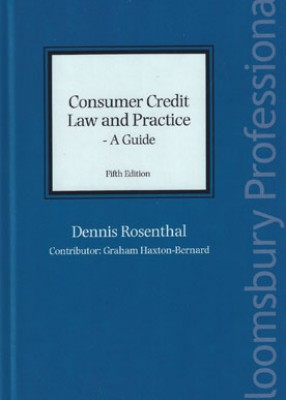 Consumer Credit Law & Practice: A Guide (5ed)