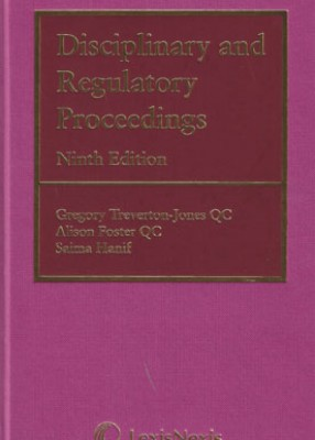 Disciplinary & Regulatory Proceedings (9ed)