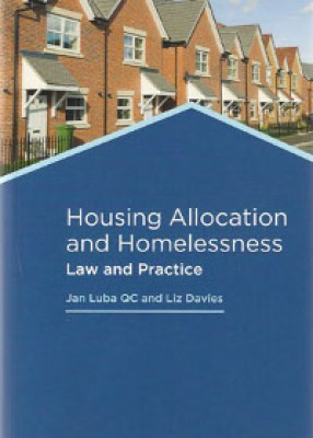 Housing Allocation and Homelessness: Law and Practice (5ed) (+CD)