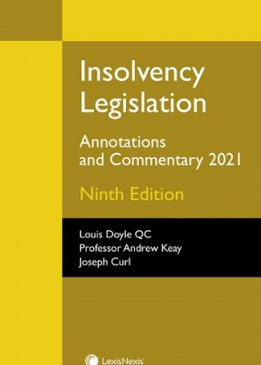 Insolvency Legislation: Annotations and Commentary 2020 (9ed)