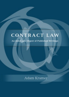 Contract Law: An Index and Digest of Published Writings